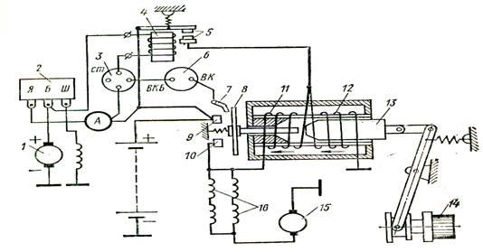 Рис.7 Электрическая схема