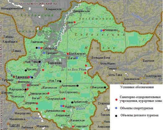 Карта-схема размещения
