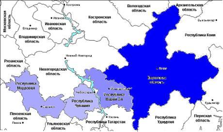 Волго вятский экономический район реферат 5153