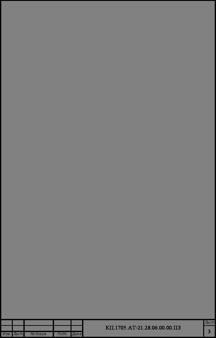 Карта Технологического Процесса скачать